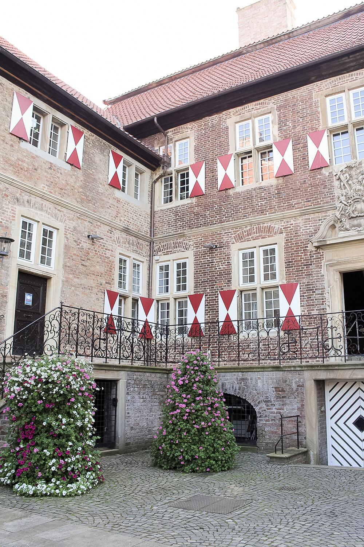 Eingangsbereich des Schloss Oberwerries