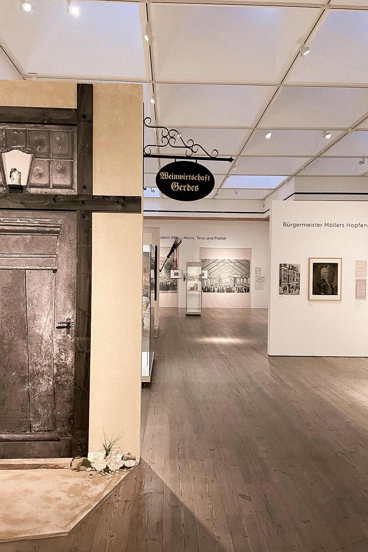 Sonderausstellung zur Kneipenkultur im Gustav-Lübcke-Museum in Hamm