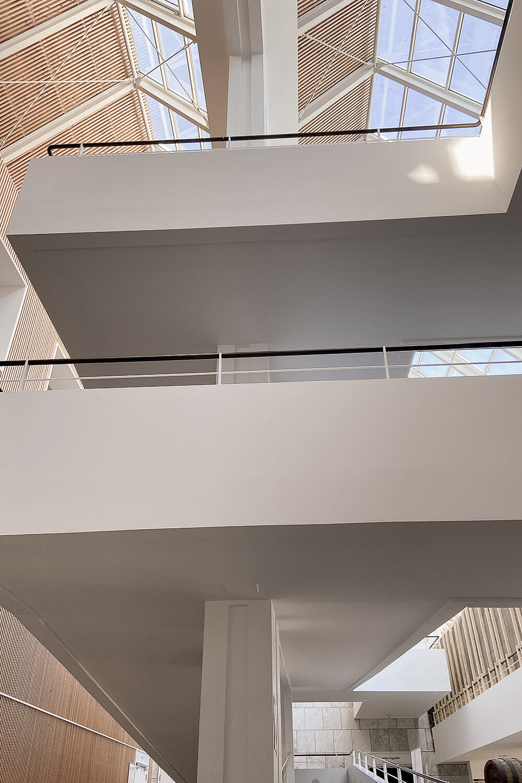 Architktur im Gustav-Lübcke-Museum in Hamm