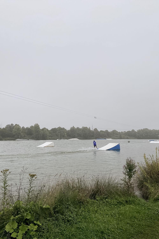 Wasserskibahn in Hamm