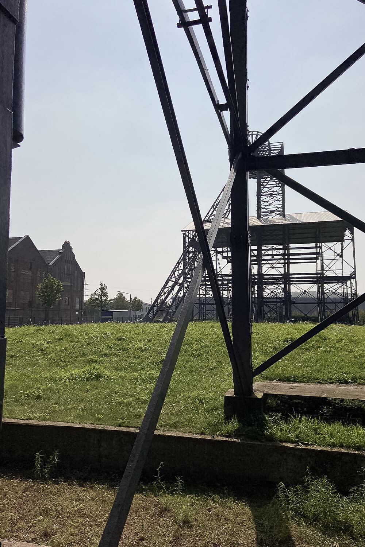 Fördertürme der Zeche Radbod in Hamm