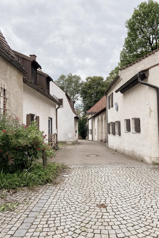 Altstadtstraße in Schrobenhausen