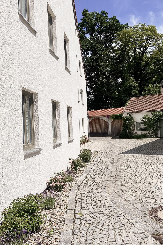 Altstadtgasse in Schrobenhausen