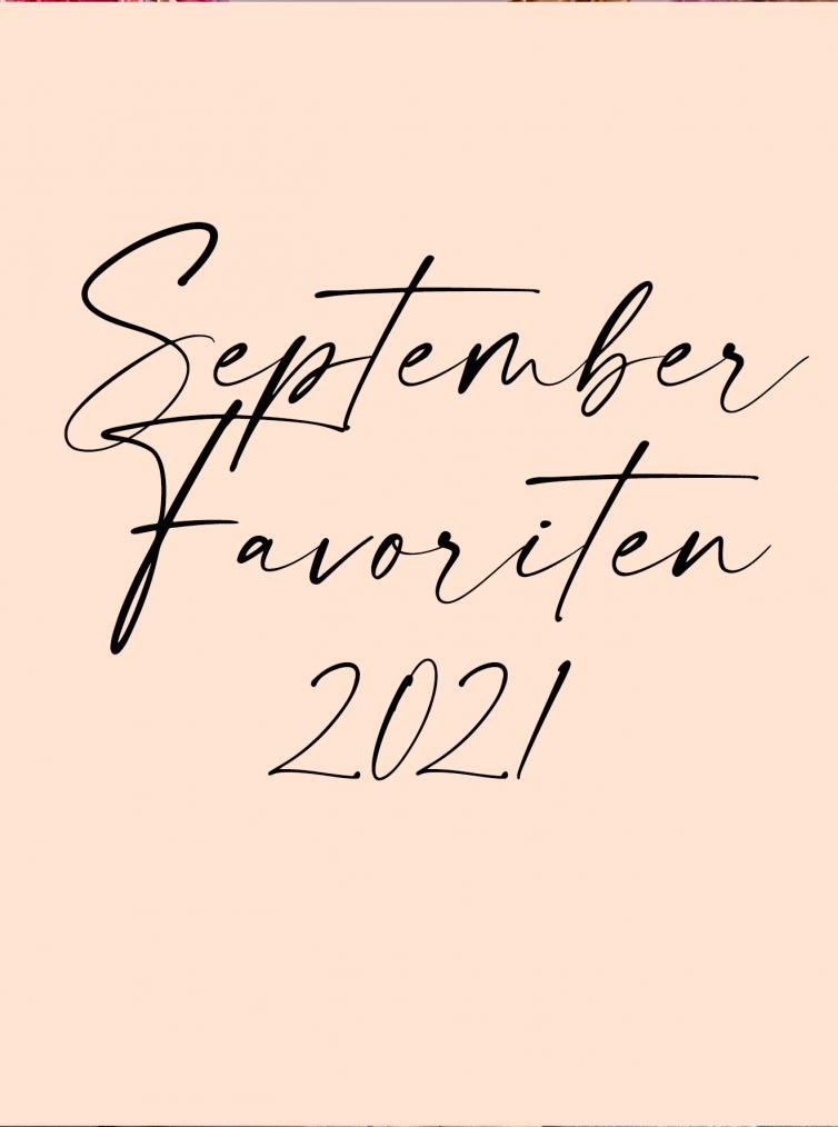 Schriftzug September Favoriten 2021