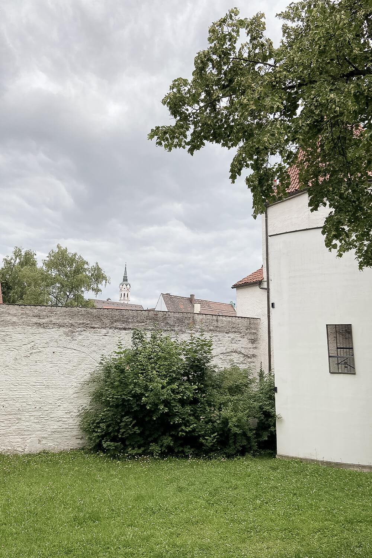 Stadtmauer in Schrobenhausen